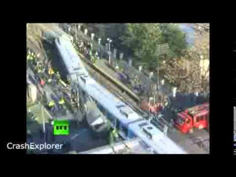 Train Collisions Mega Compilation 2014 crash train accident