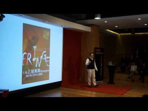 Creative outlets: Mark Ceolin at TEDxHultBusinessSchoolSH (re)Thinking China