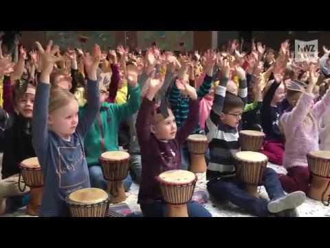 Trommelzauber an der Grundschule