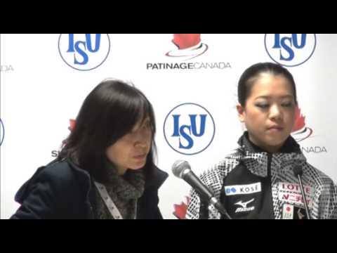 Skate Canada International Ladies Free Press Conference
