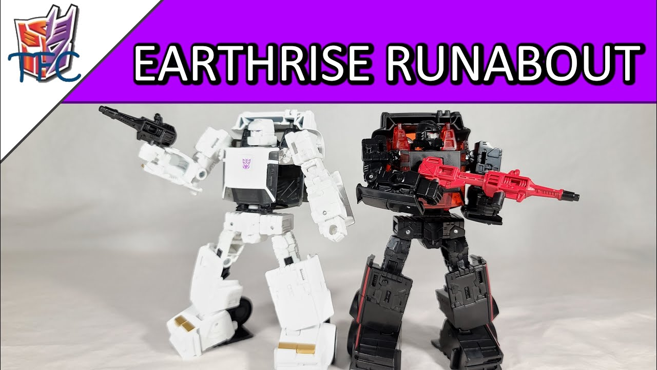 TF Collector Earthrise Runabout Review!