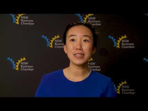 2017 Sydney City Regional Winner, Young Entrepreneur, Ophenia Liang, Digital Crew