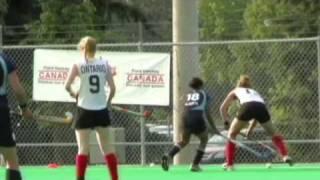 Jessica Buttinger #13 2009 Canadian Senior  Field Hockey Championship July 22-24, 2009