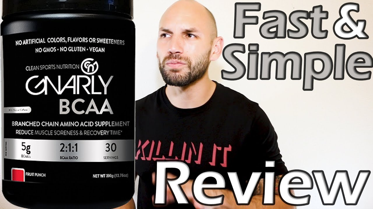 Gnarly Bcaa Supplement Review Youtube