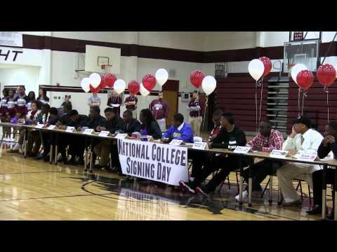 Mesquite High School: College Signing Day 2013
