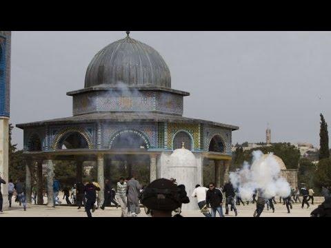 فيديو مؤثر .. اقتحام واستباحة لحرم المسجد الأقصى من الداخل ...