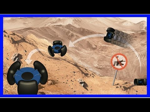 New space robot would hop—not drive—across other worlds