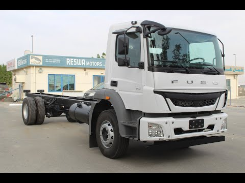 Mitsubishi Fuso FJY4 Series Diesel 12.5-TON Payload (4×2) Chassis With Sleeper Cab 2020 Model