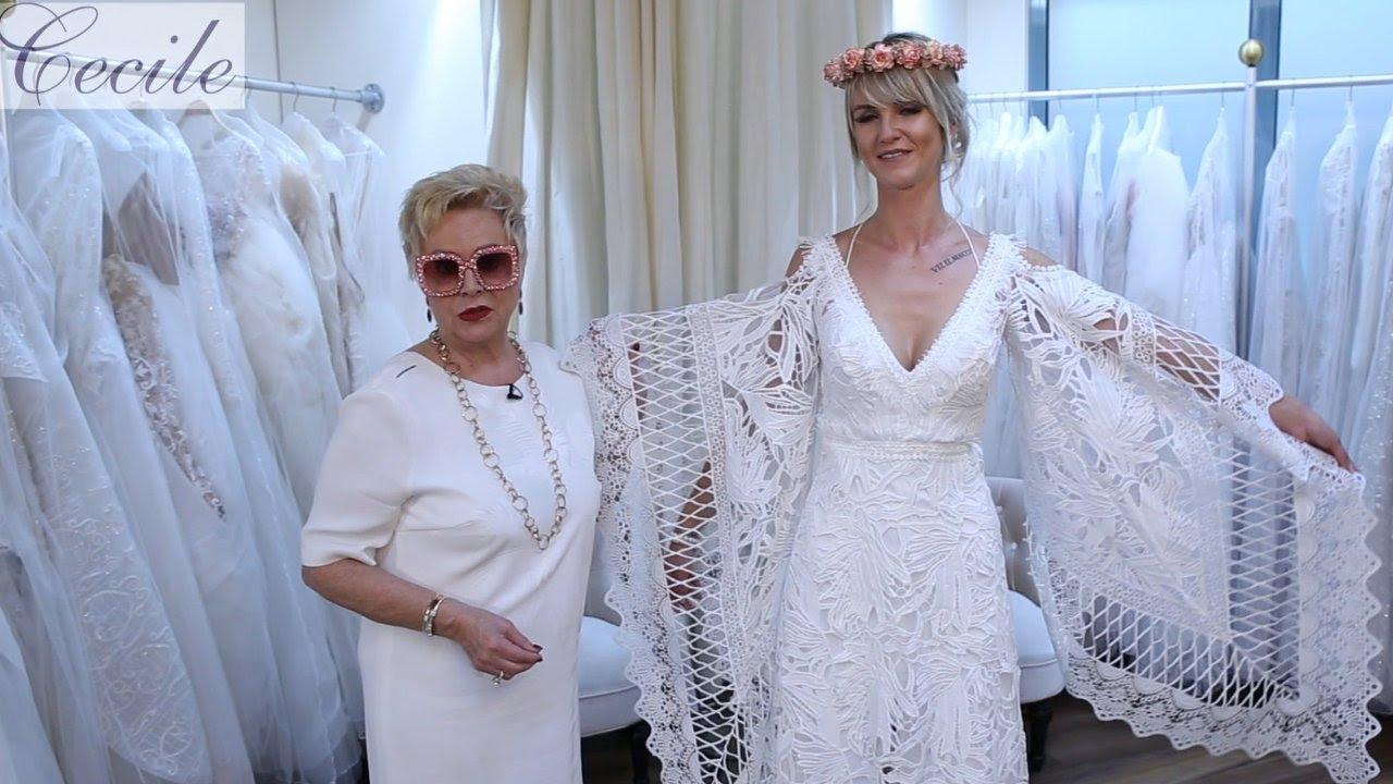 moderate Kosten Schönheit begrenzter Preis Mega-Hingucker: Hippie-Hochzeitskleid aus Makramee