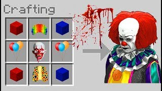 Minecraft IT - How to Summon PENNYWISE in MCPE 1.2