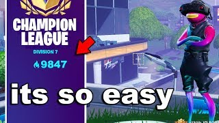 how to get UNLIMITED arena points in RANKED Fortnite...