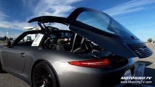 Porsche 911 Targa 4 GTS 2016 Videos
