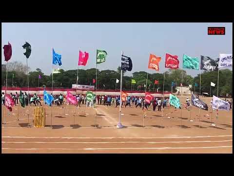 Police games&sports meet inaugurated by SP VENKATA APPALANAIDU IPS Garu Guntur rural district