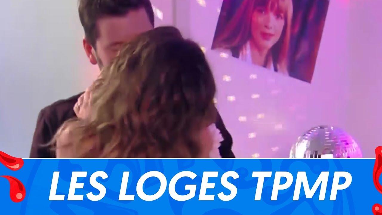 Les loges de TPMP : Capucine Anav et Maxime Guény le bisou inattendu