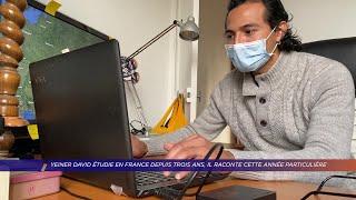 Yvelines | Yeiner David étudie en France depuis 3 ans, il raconte cette année particulière