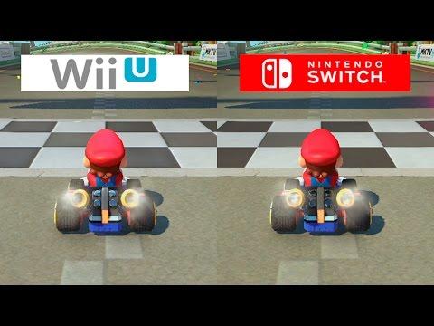 Mario Kart 8 Switch Vs Wii U Graphics Comparison Comparativa