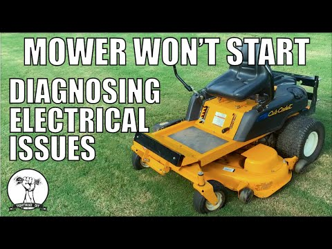 DIY Mower Will Not Start Safety Switch Diagnosis And Repair Cub Cadet RTZ ZTR YouTube