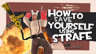 TF2: How to save yourself using strafe [Epic Win]
