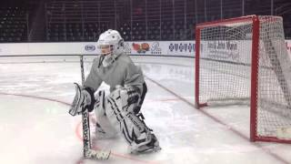 Ice Hockey Coaching Tip: How to Draw a Crease