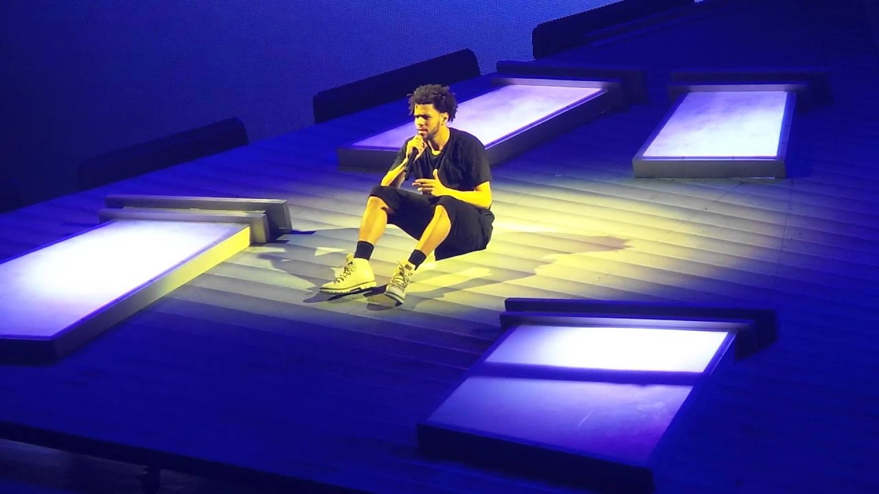 J Cole Forest Hills Tour Concert MSG 8/4/15