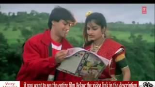 Salman Khan  Ayesha Jhulka In the movie Romantic Full