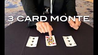 3 Card Monte - a card trick from Shir Soul Magic