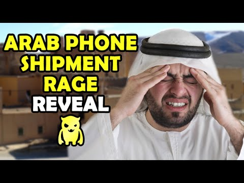 Arab Lost Phone Shipment Rage REVEAL - Ownage Pranks