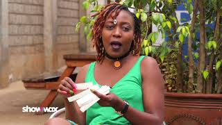 Nice Wanjeri aka Shiru (Auntie Boss) reacts to fans' comments | Showmax Kenya