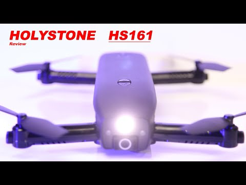 Finally an Interesting Drone - HOLYSTONE HS161 - Review