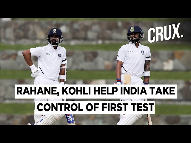 Half- Centuries From Virat And Rahane Help Finish Day 3 On A Strong Note