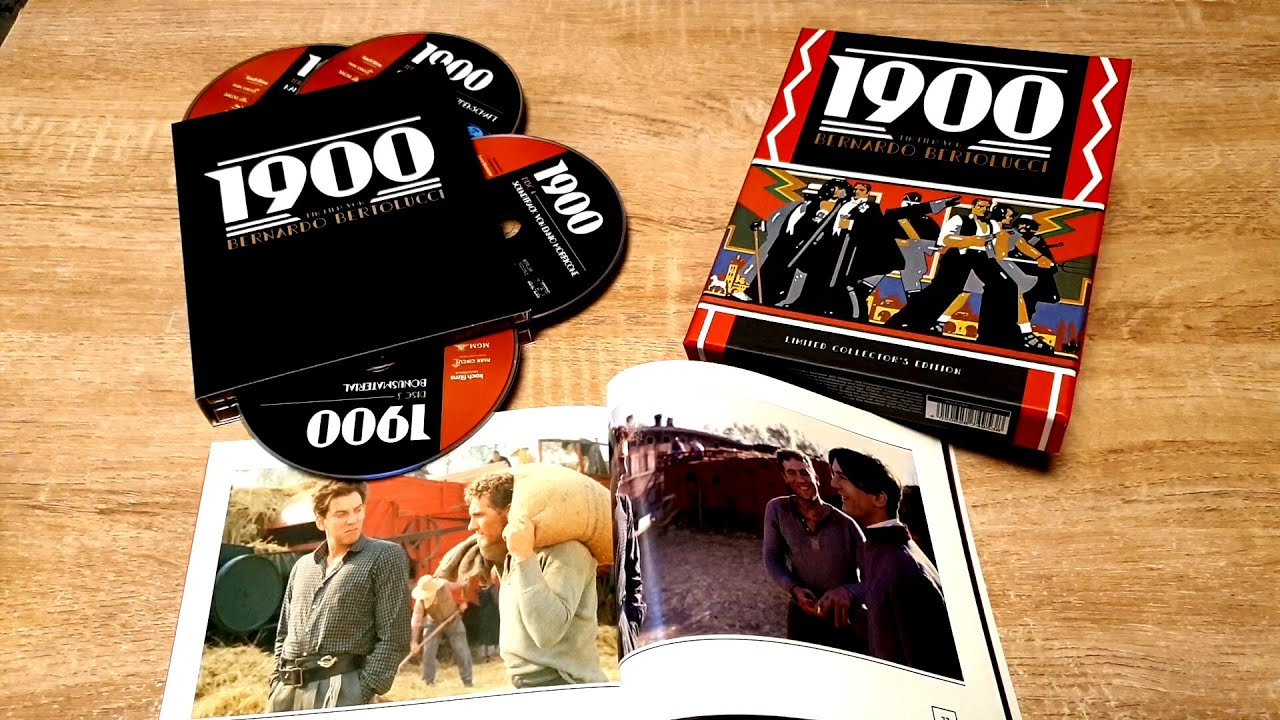 Download 1900 - Novecento Deluxe Limited Collectors Edtion Box Blu-Ray 4K Master Koch Films Soundtrack