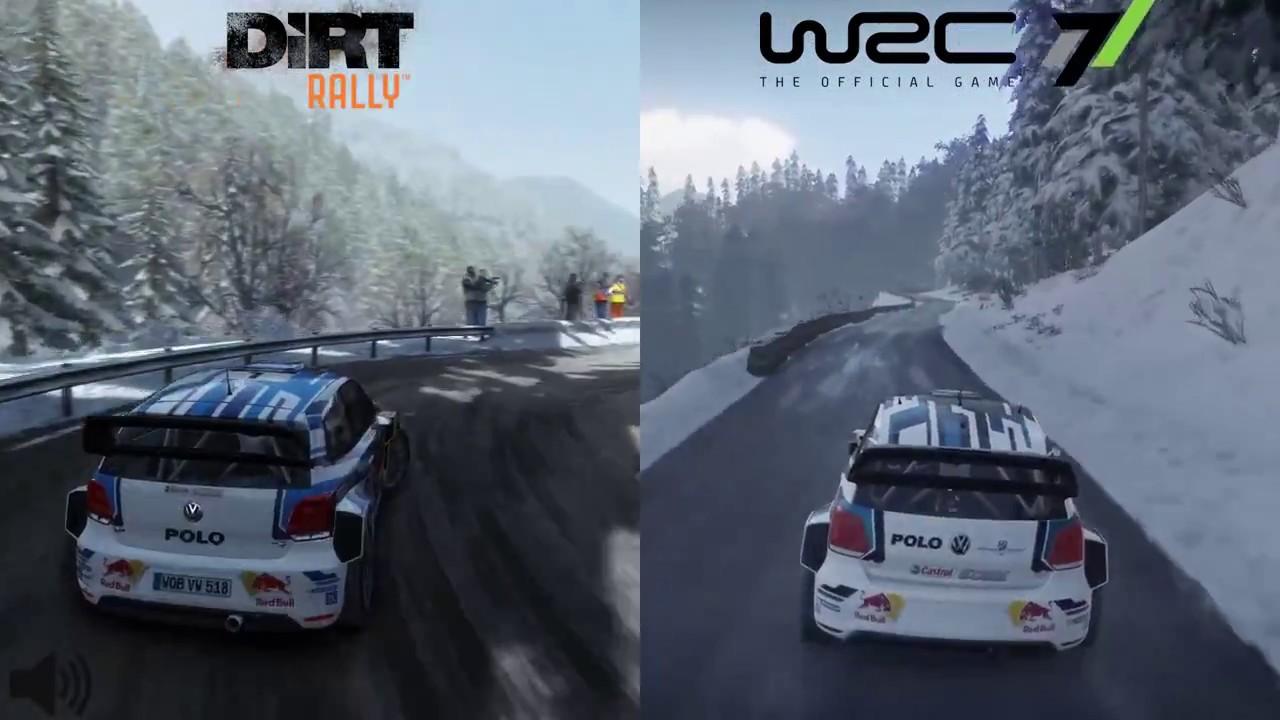 DiRT Rally | Winter Wonderland | Sweden | VW Polo R WRC - YouTube