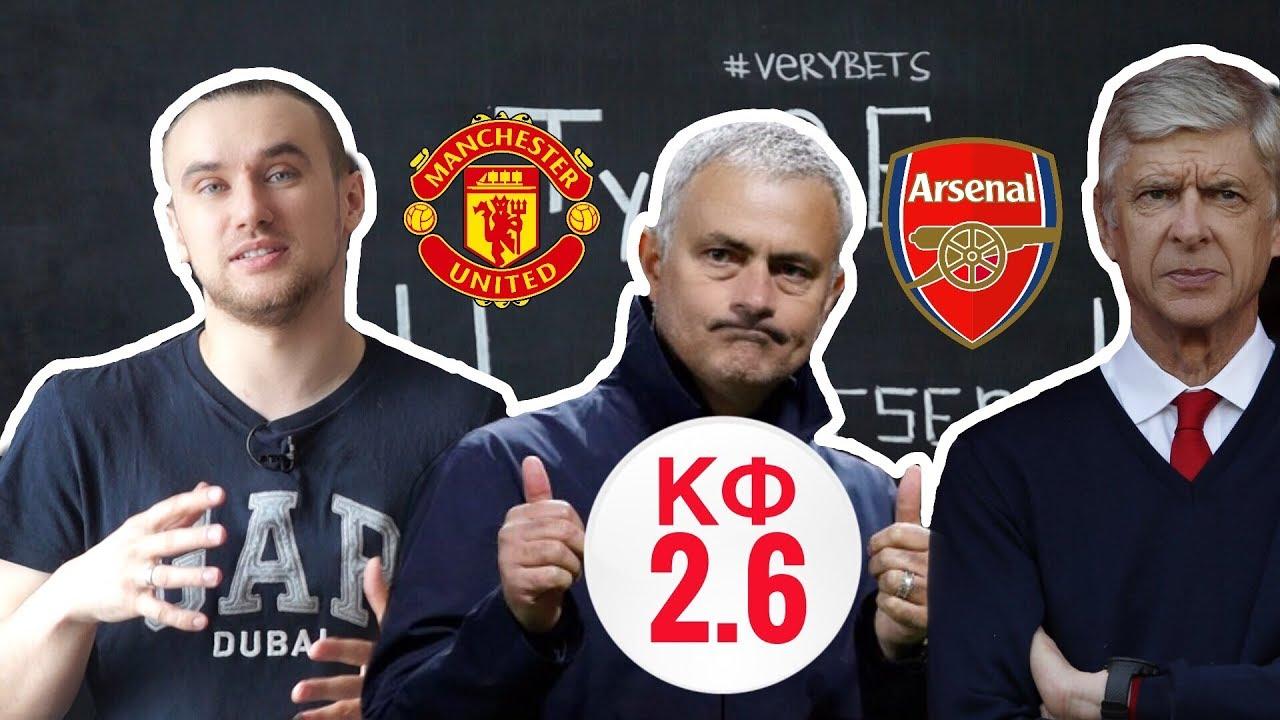 Манчестер Юнайтед – Арсенал. Прогноз матча чемпионата Англии