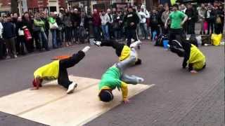 Amazing Street Dance Team - Some of their moves are AWESOME!