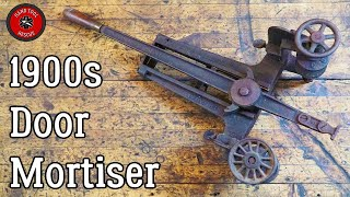 1900s Door Mortiser [Restoration]