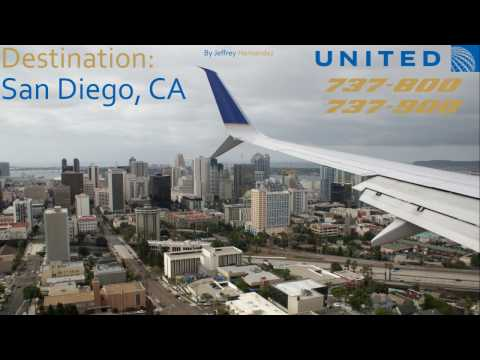 Destination: San Diego (United 737-800+900 Trip Report)