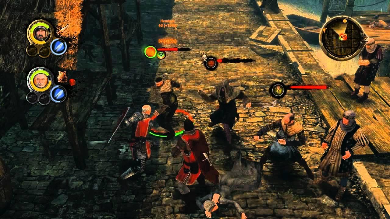 Game of Thrones RPG - combat walkthrough - YouTube