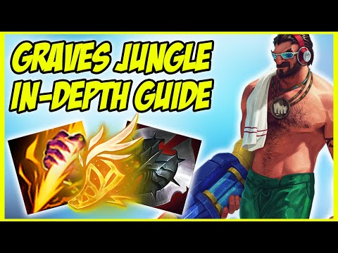GUIDE ON HOW TO PLAY GRAVES JUNGLE IN SEASON 9! HYPER CARRY JUNGLER - League of Legends