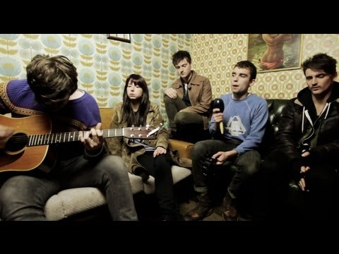 Little Green Cars perform The John Wayne for The Line of Best Fit