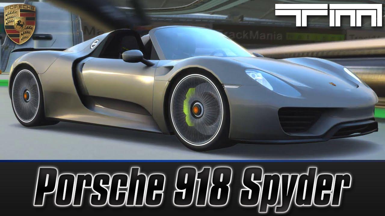trackmania united forever porsche 918 spyder 918 vs laferrari vs p1 yo. Black Bedroom Furniture Sets. Home Design Ideas
