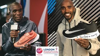 "ELIUD KIPCHOGE ""i will run a beautiful race"" LONDON MARATHON 2018"