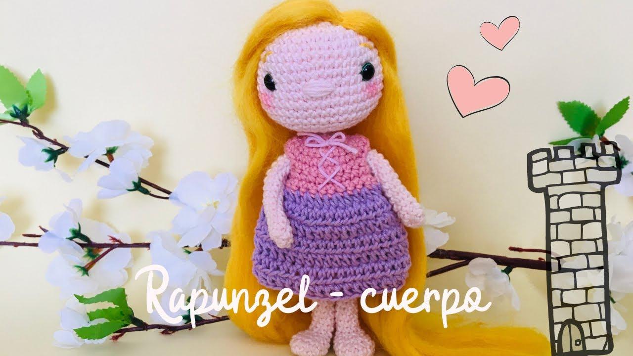 RAPUNZEL - Amigurumi Pattern Crochet Doll Pattern Amigurumi ... | 720x1280
