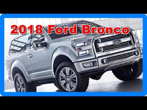 2018 Ford Bronco Redesign Interior and Exerior  YouTube