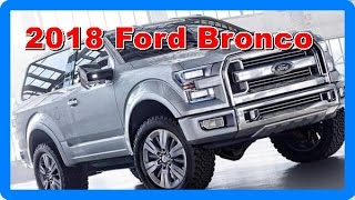 2018 Ford Bronco Redesign Interior And Exerior