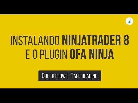 🔴 Fluxo de Ordens – Como instalar o Ninjatrader 8 e o OFA Ninja