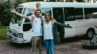 VAN LIFE: Why A Bus Conversion over a t...
