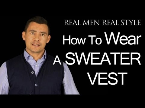How To Wear A Sweater Vest