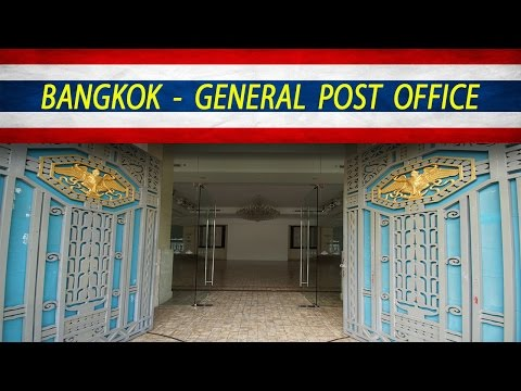 Bangkok - General Post Office ( European District )