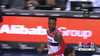 4th Quarter, One Box Video: Washington Wizards vs. Los Angeles Clippers