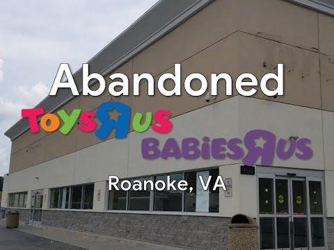 Abandoned Toys R Us - Roanoke, VA [CRAZY FIND]